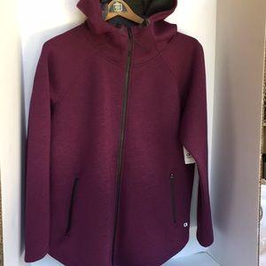 GapFit performance full zip hoodie jacket medium